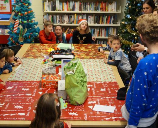 Photographs from Children's Activities at Thurston Christmas Tree Festival